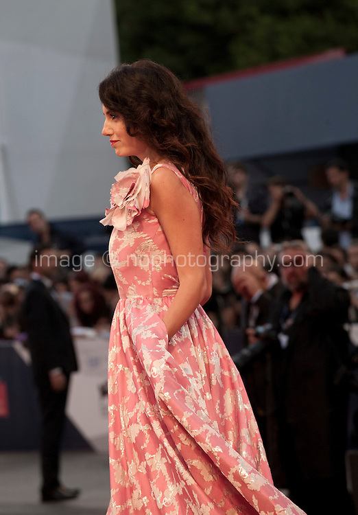 Tiziana Buldini at the gala screening for the film The Danish Girl  at the 72nd Venice Film Festival, Saturday September 5th 2015, Venice Lido, Italy.