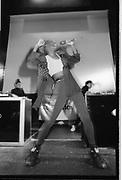 Technics UK DJ Championships, UK. 1980s.