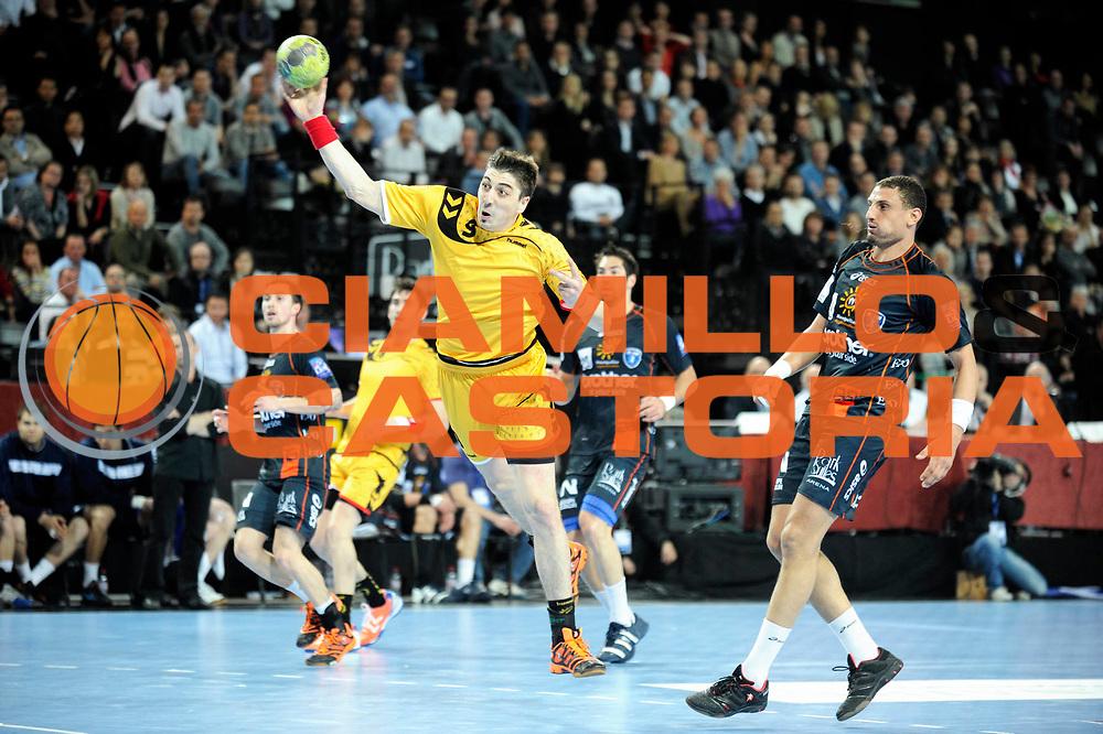 DESCRIZIONE : France Hand D1 Championnat de France D1 a Montpellier Park Suite Arena<br /> GIOCATORE : Gille Benjamin<br /> SQUADRA : Chambery<br /> EVENTO : FRANCE Hand D1<br /> GARA : Montpellier Chambery<br /> DATA : 01/03/2012<br /> CATEGORIA : Hand D1 <br /> SPORT : Handball<br /> AUTORE : JF Molliere <br /> Galleria : France Hand 2011-2012 Action<br /> Fotonotizia : France Hand D1 Championnat de France D1 a Montpellier<br /> Predefinita :