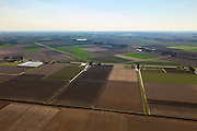 Nederland, Flevoland, Noordoostpolder (NOP), 01-05-2013; locatie mogelijke proefboring schaliegas, omgeving Luttelgeest..Location possible test drilling shale gas, near Luttelgeest..luchtfoto (toeslag op standard tarieven).aerial photo (additional fee required).copyright foto/photo Siebe Swart