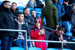 Bristol City fans at Cardiff City - Mandatory by-line: Robbie Stephenson/JMP - 10/11/2019 -  FOOTBALL - Cardiff City Stadium - Cardiff, Wales -  Cardiff City v Bristol City - Sky Bet Championship