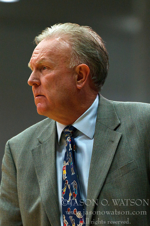Dec 10, 2011; San Francisco CA, USA;  Pacific Tigers head coach Bob Thomason on the sidelines against the San Francisco Dons during the first half at War Memorial Gym.  San Francisco defeated Pacific 79-69. Mandatory Credit: Jason O. Watson-US PRESSWIRE