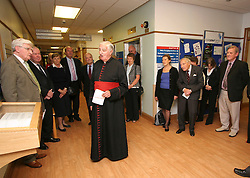 "© Licensed to London News Pictures. 01/02/2012. Uckfield, UK. On duty at Uckfield Hospital. Canon Bill Peters of Uckfield, the only chaplain who served in the Second World War still working, is celebrating his 70th year in the church as he approaches his 93rd birthday this year. It has been 67 years since he signed up with the Royal Army Chaplains Department. Canon Peters, who lives in Uckfield is a widower of 10 years and a grand-father of two, He claims he still has a lot left to achieve and said: ""If anybody wants to get married, and the parish is happy, then I do them. I do more weddings than funerals. I have been a priest for 70 years this year and I have spent all that time in Sussex, except when I was in the army and canon of a cathedral."" Photo credit : Ron Hill/LNP NOTE TO EDITORS - WORDS AVAILABLE HERE: http://tinyurl.com/73zbhmu"