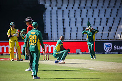 Kagiso Rabada of SA appeals for a wicket during the 2nd ODI match between South Africa and Australia held at The Wanderers Stadium in Johannesburg, Gauteng, South Africa on the 2nd October  2016<br /> <br /> Photo by Dominic Barnardt/ RealTime Images