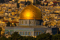 Dome of the Rock, Temple Mount (Mount Mariah), Old City, Jerusalem, Israel.