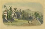 Antiquarian print.<br />St. Paul's Church, Kandy. <br />Capt: O' Brien.