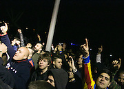 VALENCIA, SPAIN, 2015, FEBRUARY 03 <br /> <br /> Gary Neville, arrives at the airport of Valencia, where he was picked up by his brother Phil, amid shouts and jeers from fans of Valencia Football Club, demanding his departure and resigned from his post as coach<br /> ©Exclusivepix Media