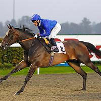 Volcanic Wind and S De Sousa winning the 5.20 race