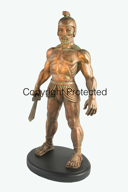Thalos model from the Ray Harryhausen collection, featured in the 1964 film Jason and The Argonauts