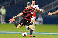 13 December 2015: Stanford's Jordan Morris. The Clemson University Tigers played the Stanford University Cardinal at Sporting Park in Kansas City, Kansas in the 2015 NCAA Division I Men's College Cup championship match. Stanford won the game 4-0.
