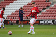 Manchester United U21 Scott McTominay in warm up during the Barclays U21 Premier League match between U21 Southampton and U21 Manchester United at the St Mary's Stadium, Southampton, England on 25 April 2016. Photo by Phil Duncan.