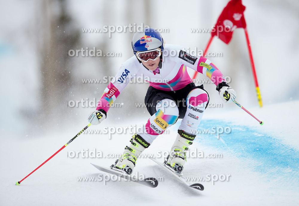 30.01.2015, Golden Peak Strecke, Vail, USA, FIS Weltmeisterschaften Ski Alpin, Training, im Bild Lindsey Vonn (USA) // Lindsey Vonn of the USA in Action during a practice run for the FIS Ski World Championships 2015 at the Golden Peak Course, Vail, United States on 2015/01/30. EXPA Pictures © 2015, PhotoCredit: EXPA/ Johann Groder