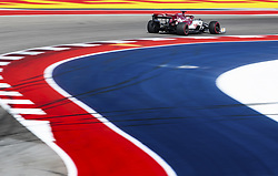 November 2, 2019, Austin, United States of America: Motorsports: FIA Formula One World Championship 2019, Grand Prix of United States, .#7 Kimi Raikkonen (FIN, Alfa Romeo Racing) (Credit Image: © Hoch Zwei via ZUMA Wire)