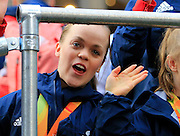 Ellie Simmonds during the Manchester Olympic Parade in Manchester, United Kingdom on 17 October 2016. Photo by Richard Holmes.