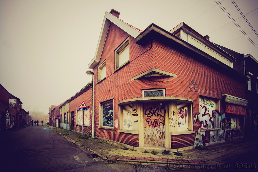 Empty streets, strange feeling.