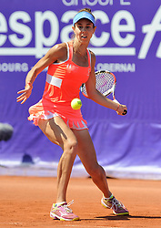 May 25, 2018 - France - Internationaux de tennis de Strasbourg - Mihaela Buzarnescu Roumanie (Credit Image: © Panoramic via ZUMA Press)