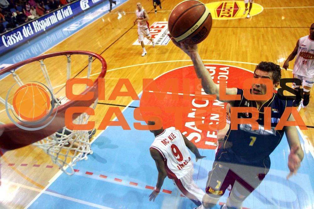 DESCRIZIONE : Faenza Lega A2 2005-06 Zarotti Imola Ignis Castelletto Ticino <br /> GIOCATORE : Conti <br /> SQUADRA : Ignis Castelletto Ticino <br /> EVENTO : Campionato Lega A2 2005-2006 <br /> GARA : Zarotti Imola Ignis Castelletto Ticino <br /> DATA : 19/02/2006 <br /> CATEGORIA : Special <br /> SPORT : Pallacanestro <br /> AUTORE : Agenzia Ciamillo-Castoria/M.Marchi
