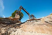 Prismet 06.07.17  Faxe Kalkbrud, Haslev kommune, Udsigtstårn, Udgravning
