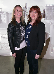 Repro Free: 26 September 2013<br /> Avril Malone and Karen Kennerney pictured at the Guinness Storehouse, celebrating talent and creativity on Arthur's Day 2013. Picture Andres Poveda