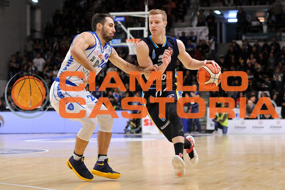Andrea Amato<br /> Banco di Sardegna Dinamo Sassari - Vanoli Cremona<br /> LegaBasket Serie A LBA Poste Mobile 2016/2017<br /> Sassari 26/11/2016<br /> Foto Ciamillo-Castoria