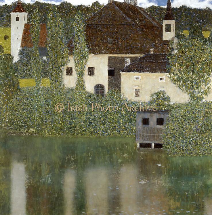 Schloss Kammer on the Attersee' (I), 1908. Gustav Klimt (1862-1919) Austrian Symbolist painter.