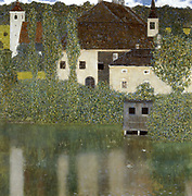 Schloss Kammer on the Attersee' (I), 1908. Gustav Klimt (1862-1919) Austrian Symbolist painter.