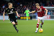 Northampton Town Midfielder Lee Martin  during the Sky Bet League 2 match between Northampton Town and York City at Sixfields Stadium, Northampton, England on 6 February 2016. Photo by Dennis Goodwin.`