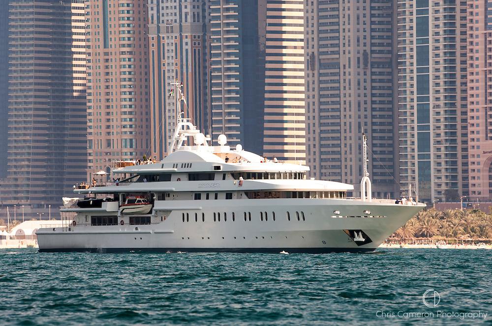 Motor Yacht Moonlight II in Dubai.