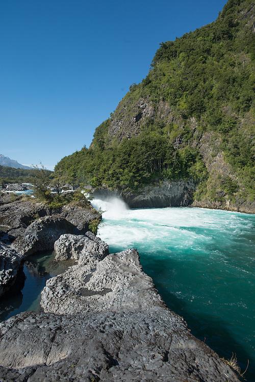 Petrohue river Puerto Varas Chile