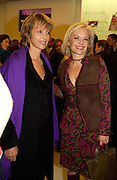 Sabrina Guinness and Mariella Frostrop, Pucci shop opening, Sloane St. 22 October 2003. © Copyright Photograph by Dafydd Jones 66 Stockwell Park Rd. London SW9 0DA Tel 020 7733 0108 www.dafjones.com