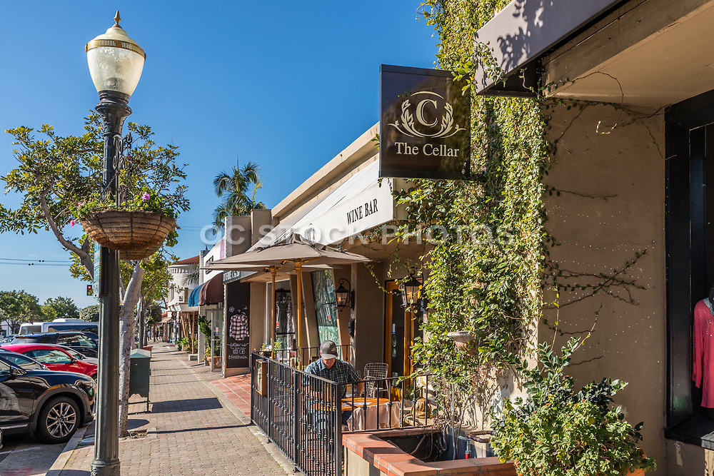 The Cellar Wine Bar on Del Mar Street San Clemente California