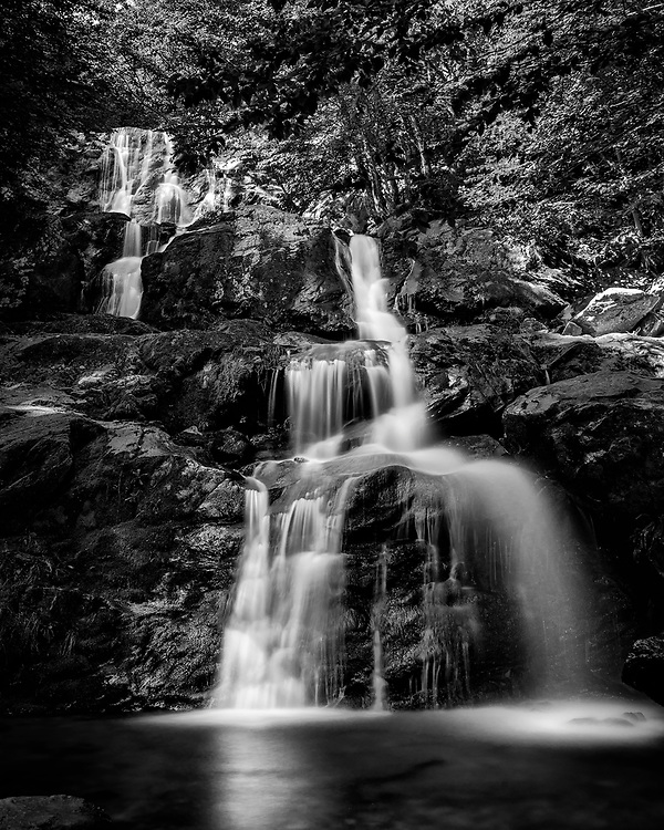 Dark Hollow Falls in Shenandoah National Park, VA.