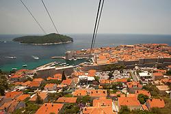 Europe, Croatia, Dubrovnik, a UNESCO World Heritage Site