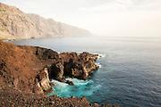 Punta de Teno coast from the lighthouse.