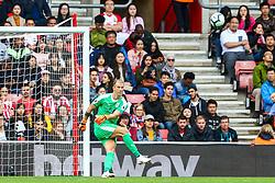 Joe Hart of Burnley kicks the ball from a goal kick  - Mandatory by-line: Ryan Hiscott/JMP - 12/08/2018 - FOOTBALL - St Mary's Stadium - Southampton, England - Southampton v Burnley - Premier League