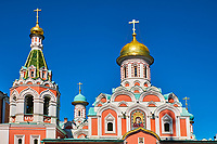 Russie, Moscou, église sur la PLace Rouge // Russia, Moscow, church in Red Square