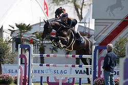 Hoogenraat Kim, NED, Caesar<br /> Young Riders<br /> Nederlands Kampioenschap Jumping - Mierlo 2017<br /> © Hippo Foto - Dirk Caremans<br /> 20/04/2017