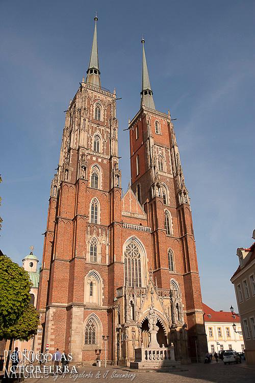 La cathedrale Saint-Jean-Baptiste