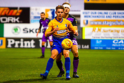 Danny Rose of Mansfield Town holds off pressure from Nathan Smith of Port Vale - Mandatory by-line: Ryan Crockett/JMP - 17/11/2018 - FOOTBALL - One Call Stadium - Mansfield, England - Mansfield Town v Port Vale - Sky Bet League Two