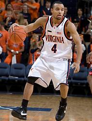 Virginia guard Calvin Baker (4)..The Virginia Cavaliers men's basketball team faced the Howard Bison at the John Paul Jones Arena in Charlottesville, VA on November 14, 2007.