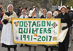 The Octagon Quilters at the Westport 250 parade on sunday.<br /> Pic Conor McKeown