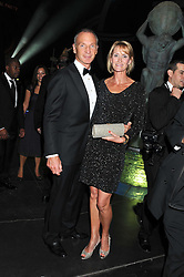DAVID & VANESSA TAIT at The Global Party held at The Natural History Museum, Cromwell Road, London on 8th September 2011.
