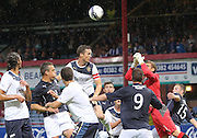 Rangers' Jon Daly and Cammy bell combine to clear the danger from Dundee - Dundee v Rangers, pre-season friendly at Dens Park <br /> <br />  - © David Young - www.davidyoungphoto.co.uk - email: davidyoungphoto@gmail.com