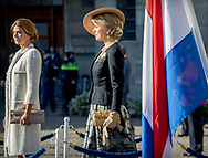 Amsterdam , 27-03-2017 <br /> <br /> State Visit to The Netherlands<br /> of president Mauricio Macri<br /> of The Argentinian Republic and his wife  Juliana Awada.<br /> <br /> WELCOME CEREMONY<br /> <br /> <br /> <br /> <br /> COPYRIGHT: ROYALPORTRAITS EUROPE/ BERNARD RUEBSAMEN