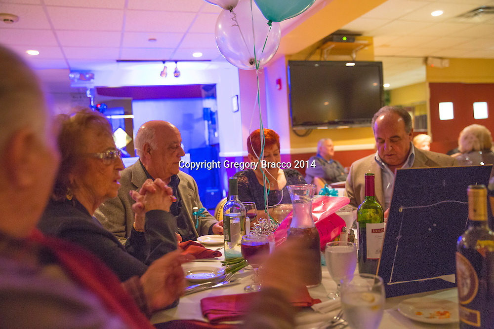The fun we had celebrating Grace's 75th Birthday