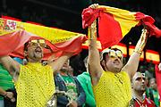 DESCRIZIONE : Kaunas Lithuania Lituania Eurobasket Men 2011 Quarter Final Round Spagna Slovenia Spain Slovenia<br /> GIOCATORE : supporters<br /> CATEGORIA : supporters tifosi<br /> SQUADRA : Spagna Slovenia Spain Slovenia<br /> EVENTO : Eurobasket Men 2011<br /> GARA : Spagna Slovenia Spain Slovenia<br /> DATA : 14/09/2011<br /> SPORT : Pallacanestro <br /> AUTORE : Agenzia Ciamillo-Castoria/M.Metlas<br /> Galleria : Eurobasket Men 2011<br /> Fotonotizia : Kaunas Lithuania Lituania Eurobasket Men 2011 Quarter Final Round Spagna Slovenia Spain Slovenia<br /> Predefinita :