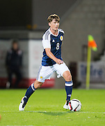 Scotland's Ryan Gauld during Scotland Under-21 v FYR Macedonia,  UEFA Under 21 championship qualifier  at Tynecastle, Edinburgh. Photo: David Young<br /> <br />  - © David Young - www.davidyoungphoto.co.uk - email: davidyoungphoto@gmail.com