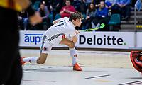 ROTTERDAM  - NK Zaalhockey . finale heren: SCHC-Amsterdam (2-2, SCHC wint shoot-outs) . Boris Burkhardt (Adam) .  COPYRIGHT KOEN SUYK