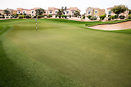 2nd green at The Els Club , Dubai, United Arab Emirates.  28/01/2016. Picture: Golffile | David Lloyd<br /> <br /> All photos usage must carry mandatory copyright credit (© Golffile | David Lloyd)