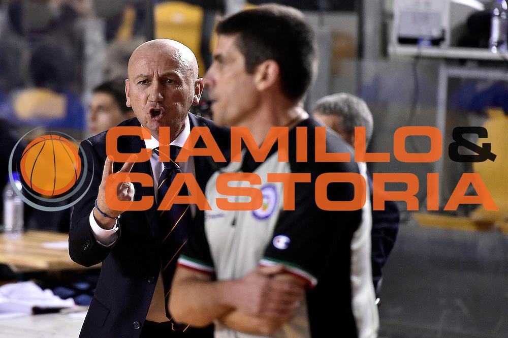 DESCRIZIONE : Roma Lega A 2014-2015 Acea Roma EA7 Emporio Armani Milano<br /> GIOCATORE : Luca Dalmonte<br /> CATEGORIA : delusione<br /> SQUADRA : Acea Roma<br /> EVENTO : Campionato Lega A 2014-2015<br /> GARA : Acea Roma EA7 Emporio Armani Milano<br /> DATA : 21/12/2014<br /> SPORT : Pallacanestro<br /> AUTORE : Agenzia Ciamillo-Castoria/Max.Ceretti<br /> GALLERIA : Lega Basket A 2014-2015<br /> FOTONOTIZIA : Roma Lega A 2014-2015 Acea Roma EA7 Emporio Armani Milano<br /> PREDEFINITA :